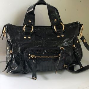 The Sak patent leather handbag